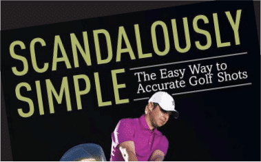 author mark immelman scandalously simple golf book cover